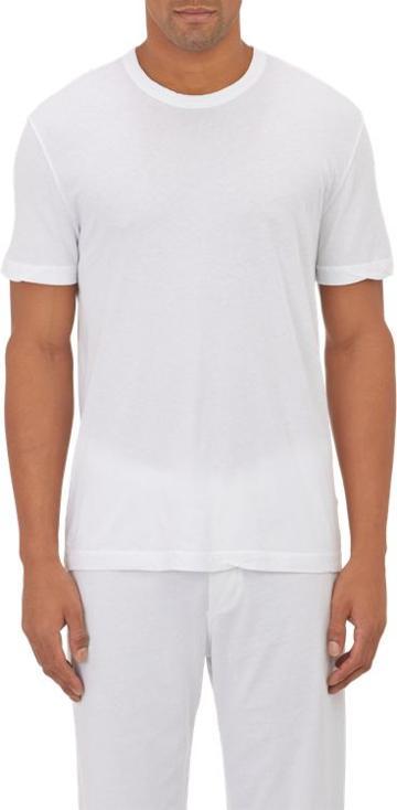 James Perse Basic Crewneck T-shirt-white