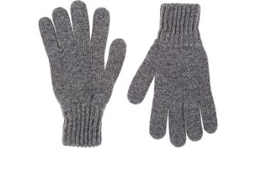 Drake's Men's Contrast-cuff Wool Gloves