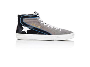 Golden Goose Men's Men's Slide Suede & Nubuck Sneakers