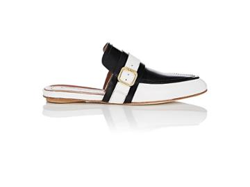 Marni Women's Buckle-strap Leather Mules