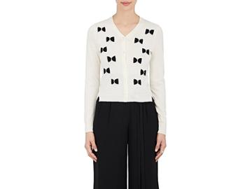 Marc Jacobs Women's Bow-detailed Wool Cardigan
