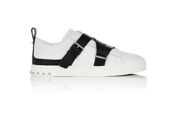 Valentino Men's V-punk Leather Sneakers