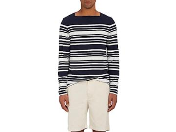 Orlebar Brown Men's Byrne Striped Cotton T-shirt