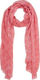 Barneys New York Leopard-print Scarf-red