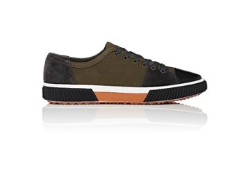 Prada Men's Colorblocked Low-top Sneakers