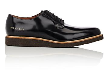 Common Projects Men's Wedge-sole Derbys