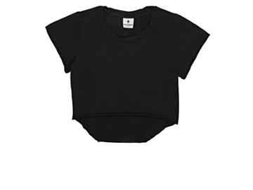 Mimobee Slub Cotton Jersey Crop Top