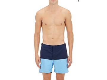 Orlebar Brown Men's Colorblocked Bulldog Swim Trunks