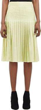 Givenchy Pleated Skirt-colorless