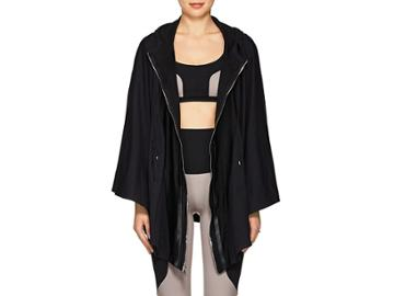 Live The Process Women's Tech-jersey Hooded Cape