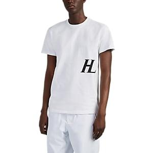Helmut Lang Men's Logo Cotton T-shirt - White