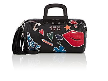 Sonia Rykiel Women's Leather Gym Bag
