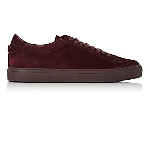 Givenchy Men's Urban Street Suede Sneakers-purple