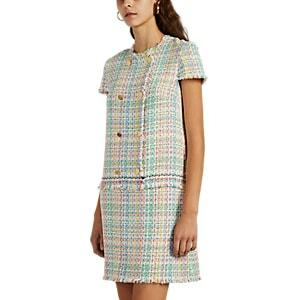 Thom Browne Women's Cotton-blend Tweed Double-breasted Dress