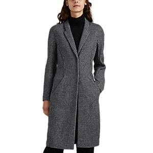 Giorgio Armani Women's Wool-blend Tweed Coat - Gray