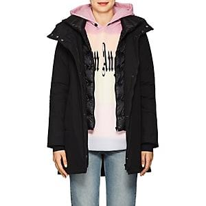Herno Women's Down-quilted Hooded Parka - Black