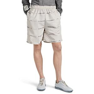 A-cold-wall* Men's Logo Basketball Shorts - Gray