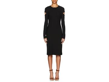 Derek Lam Women's Crepe Cutout Sheath Dress