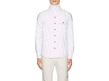 Moncler Gamme Bleu Men's Insulated Cotton Shirt Jacket