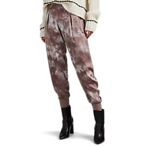Atm Anthony Thomas Melillo Women's Tie-dyed Silk Jogger Pants - Pink