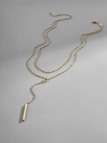 BaubleBar Isabella Everyday Fine Necklace