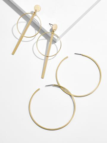 BaubleBar Prisca Hoop Earring Set