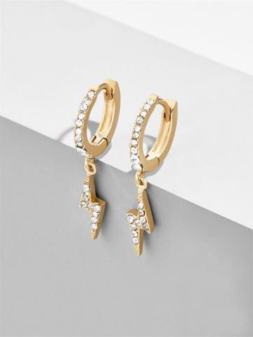 BaubleBar Asriel Huggie Hoop Earrings