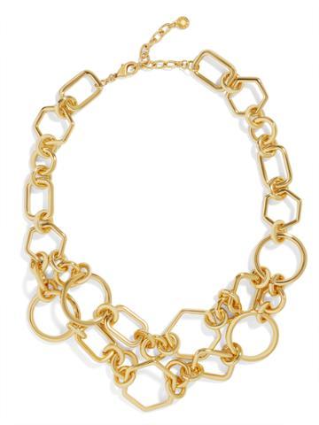 BaubleBar Chain-Link Statement Necklace