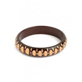 Spotted Wood Bangle
