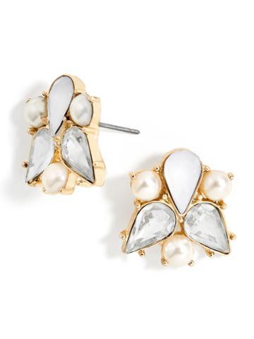 BaubleBar Josephine Stud Earrings