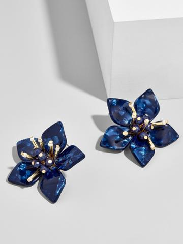 BaubleBar Amarise Flower Stud Earrings