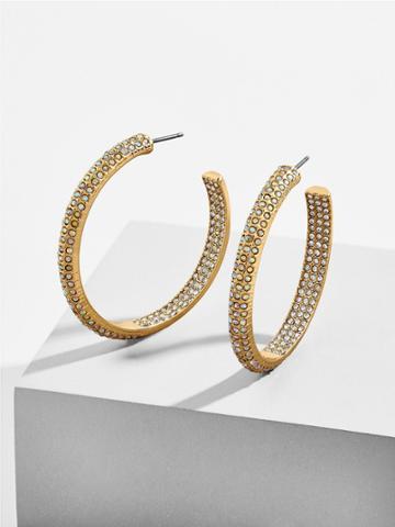 BaubleBar Stefania Hoop Earrings
