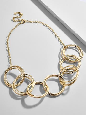 BaubleBar Romina Linked Statement Necklace