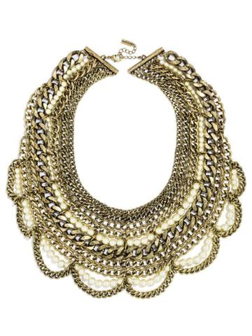 BaubleBar Pearl Courtney Bib