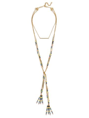 BaubleBar Cortez Layered Necklace