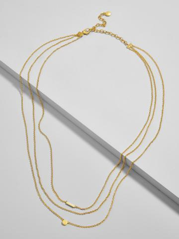 BaubleBar Forma Everyday Fine Layered Necklace