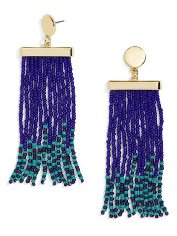 BaubleBar Neptune Tassel Earrings