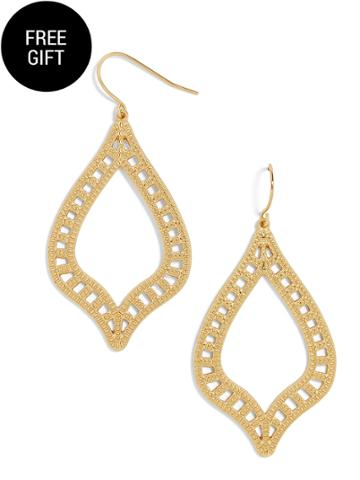 BaubleBar Raja Hoop Earrings