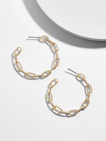 BaubleBar Elianne Hoop Earrings
