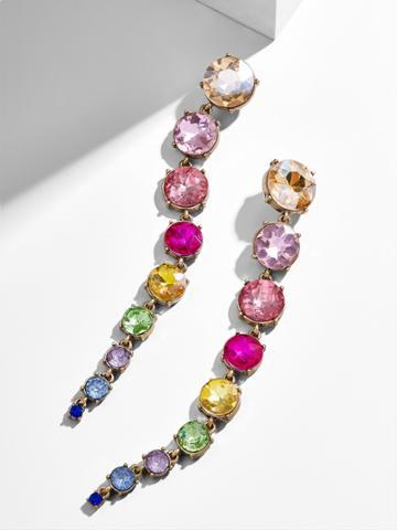 BaubleBar Isabelline Drop Earrings-Rainbow