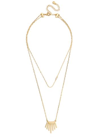 BaubleBar Sunfire Layered Necklace