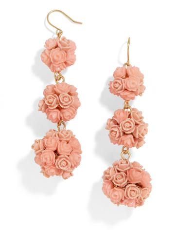 BaubleBar Floral Crispin Ball Drop Earrings