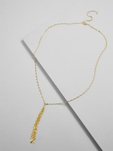 BaubleBar Forte Everyday Fine Y-Chain Necklace