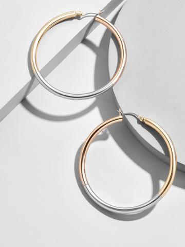 BaubleBar Tanya Hoop Earrings