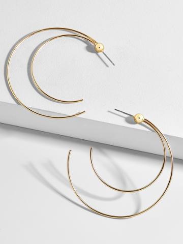 BaubleBar Darien Hoop Earrings