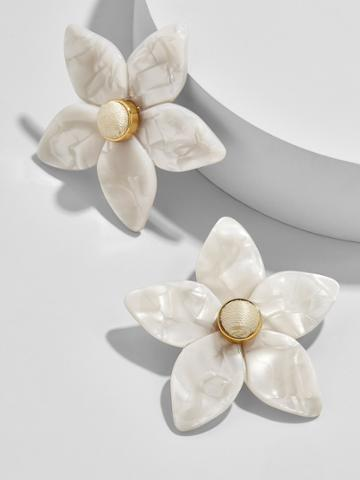 BaubleBar Amariella Flower Stud Earrings