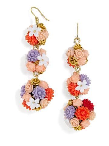 BaubleBar Flora Ball Drop Earrings