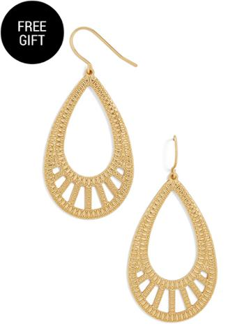 BaubleBar Reema Hoop Earrings