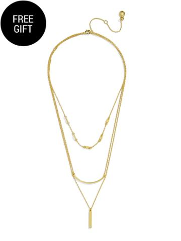 BaubleBar Jade Layered Necklace