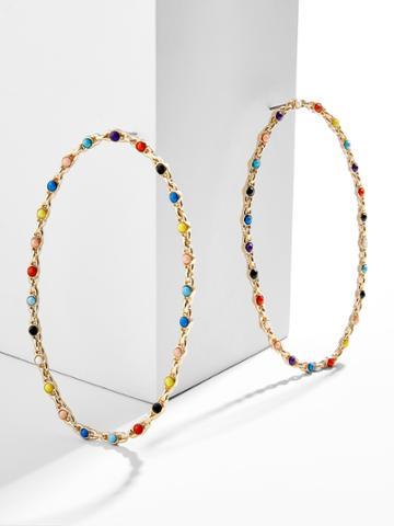 BaubleBar Iva Hoop Earrings
